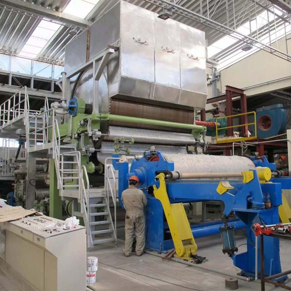 high speed jumbo roll facial tissue paper machine bathroom toilet making equipment