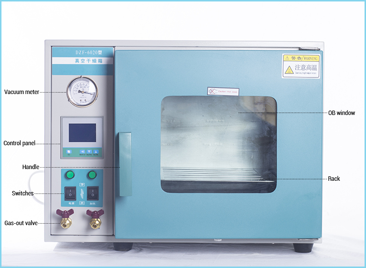 Lab Small Scale Vacuum Drying Oven from China Manufacture