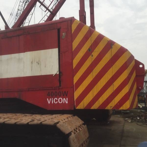 Manitowoc 4000W VICON  USED CRAWLER CRANE WITH HIGH QUALITY IN LOW PRICE