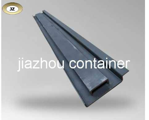 container rar corner post and channelsteel