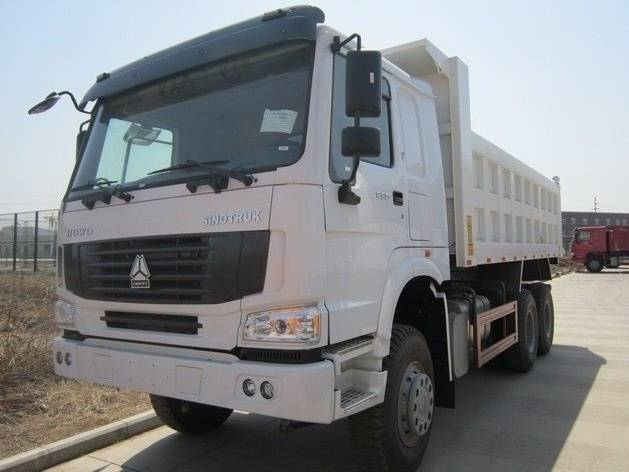 china supply 371hp tipper truck for good sale