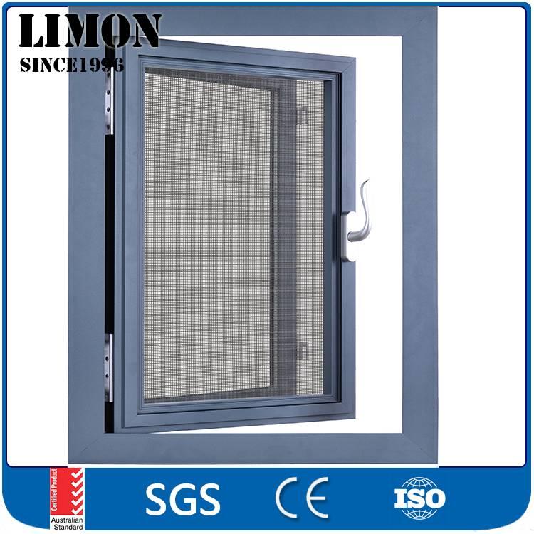 aluminium profile for insulated glass casement window