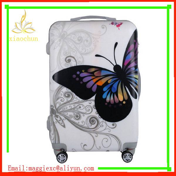 Fashion abs luggage Trolley Bag Lightweight Spinner Luggage