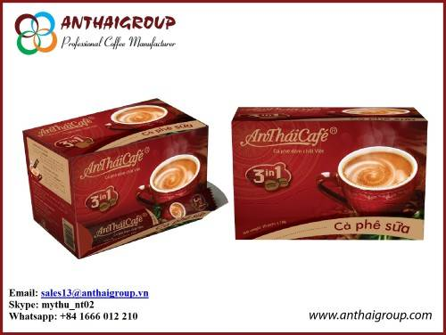 3 IN 1 INSTANT COFFEE MIX - ANTHAICAFE