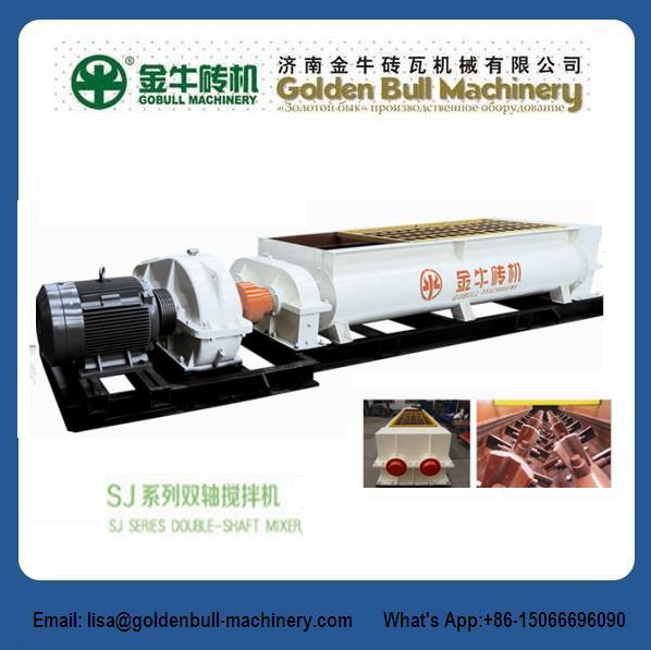 SJJ360X42 Extruding Mixer Brick Making Machine