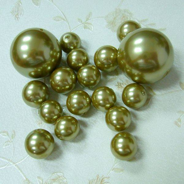 classy faux pearl golden pearl bead manufacturer