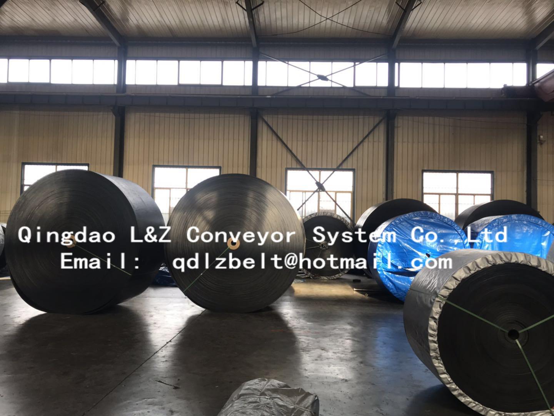 EP Rubber Conveyor Belt Using in Steel Factory