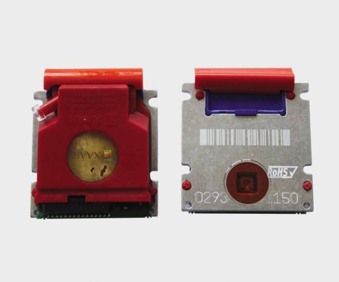 Original Xaar 128/200+(purple) print head for solvent
