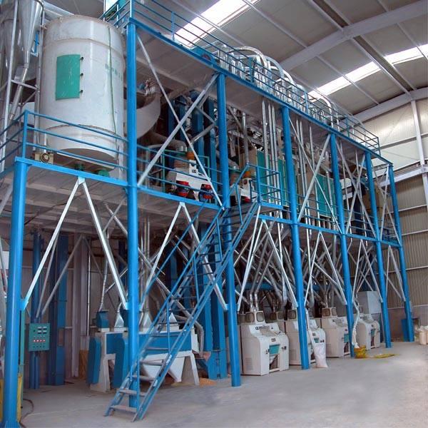 50mt per day wheat milling machinery