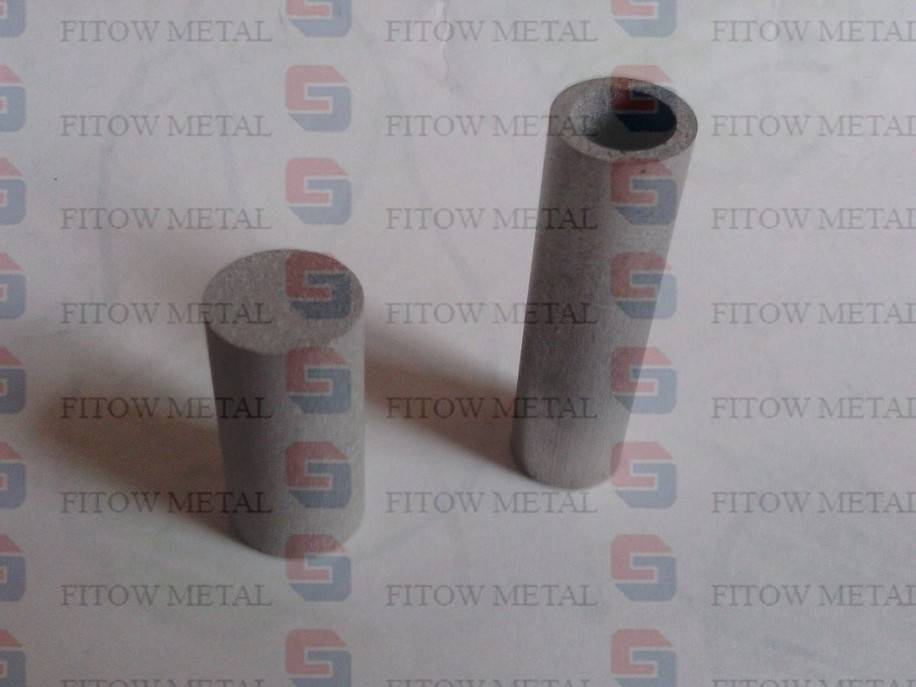 ss 316L Sintered metal cylinders filter cartridge