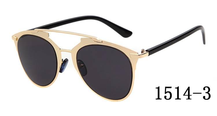 Classic Retro Aviator Sunglasses Cool Cop Eyewear For Sale Colored Mirror Lens Metal Frame Sun Glass