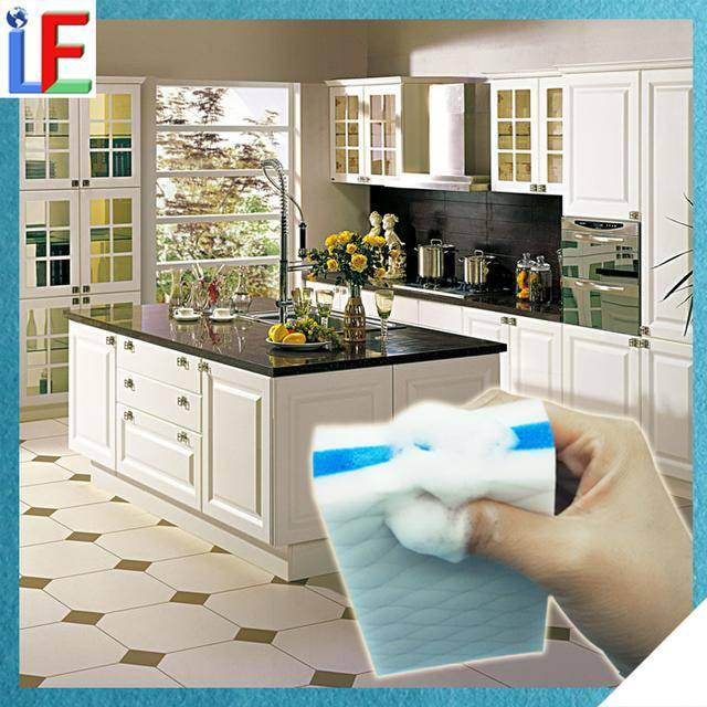 Cleaning Products Melamine Sandwich Kitchen Magic Sponge With Soap