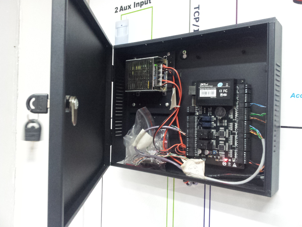 Network Controller C3-400 Intelligent Four-door one-Way Access Control Panel