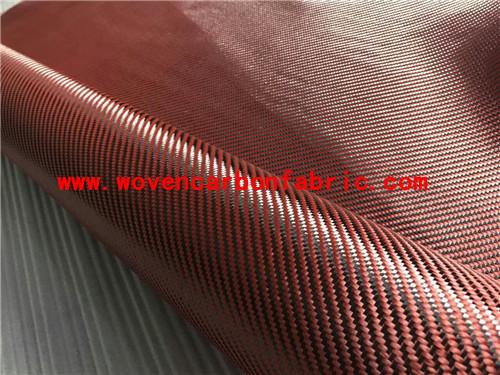200gsm twill Carbon kevlar fiber fabric cloth