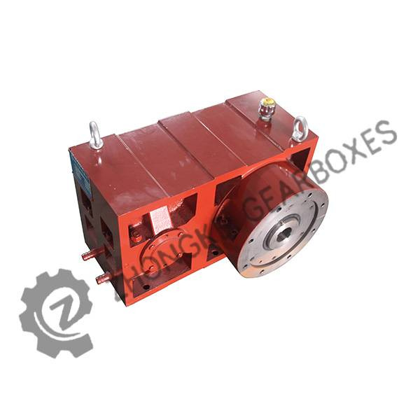 High quality plastic extruder 1:10 ratio gearbox