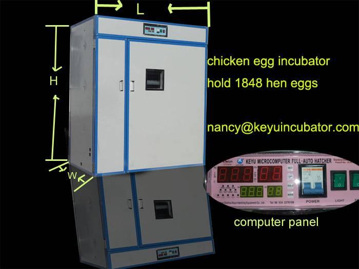 hen egg incubator hatcher machine