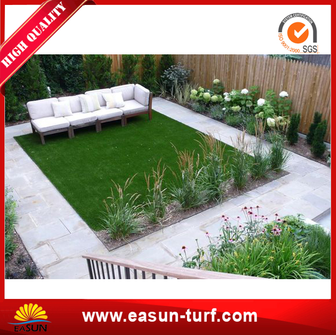 Synthetic Artificial Grass for Landscape Garden Green-MY