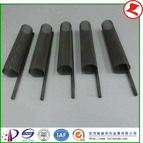 MMO Coated Titanium Anodes for Swimming Pool Water Treatment