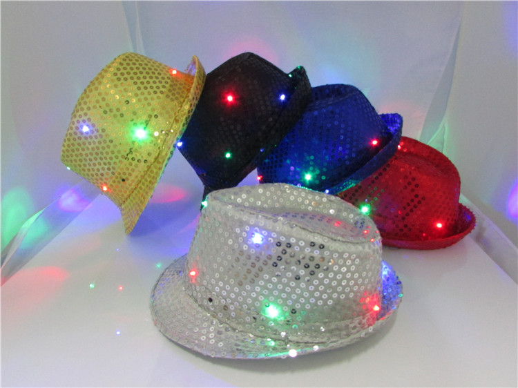 Fashionable and Hot Selling Jazzy Cap Powkey Glow Jazzy Cap Flashing Jazzy Cap
