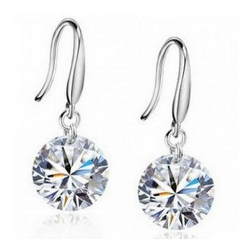 Fashion Women Zircon Dangle Drop Earring