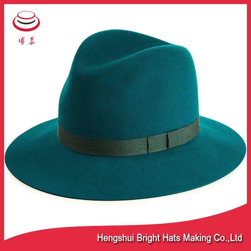Men's Adjustable&Crushable Wool Felt Fedora Hats