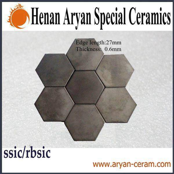 High density&hardness&temperature refractory pressureless sintered silicon carbide plates