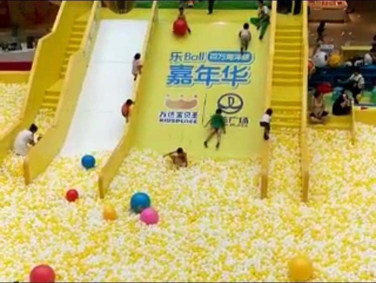 most popular indoor playground million of sea ball carnival