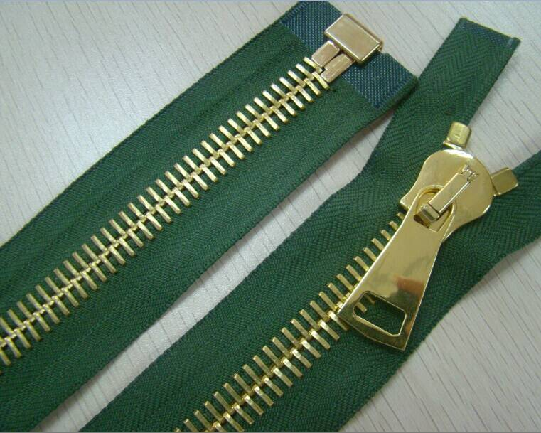 Top quality No.15 metal zipper with biger zipper puller from China zipper supplier