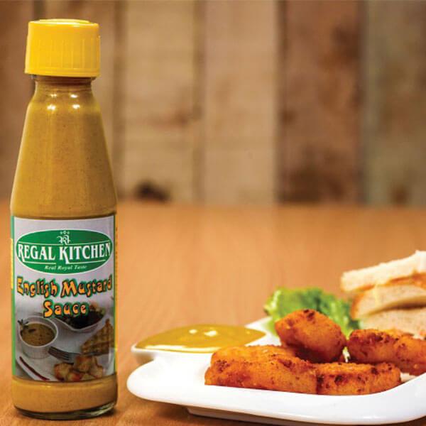 English Mustard Sauce - 200gm