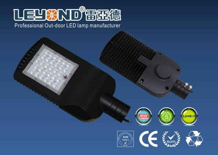Leyond New design 30w 40w 50w solar led street light With Meanwell Driver Philips 3030 led