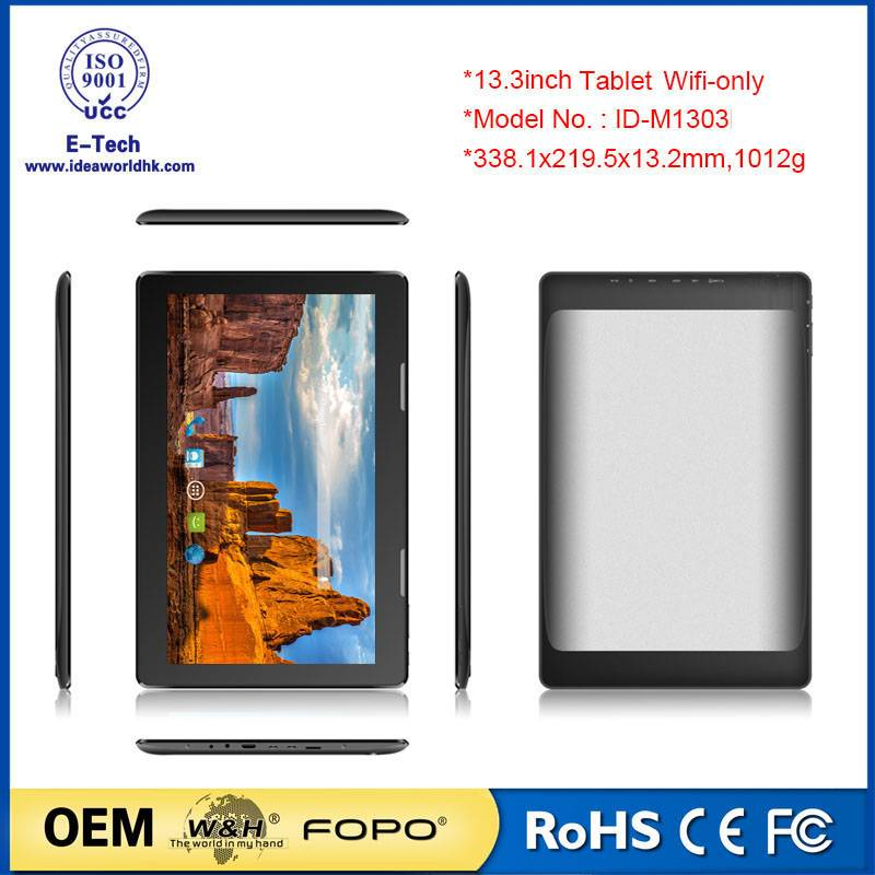 13.3inch laptop MID standing ad player top quality factory price hot selling 1303