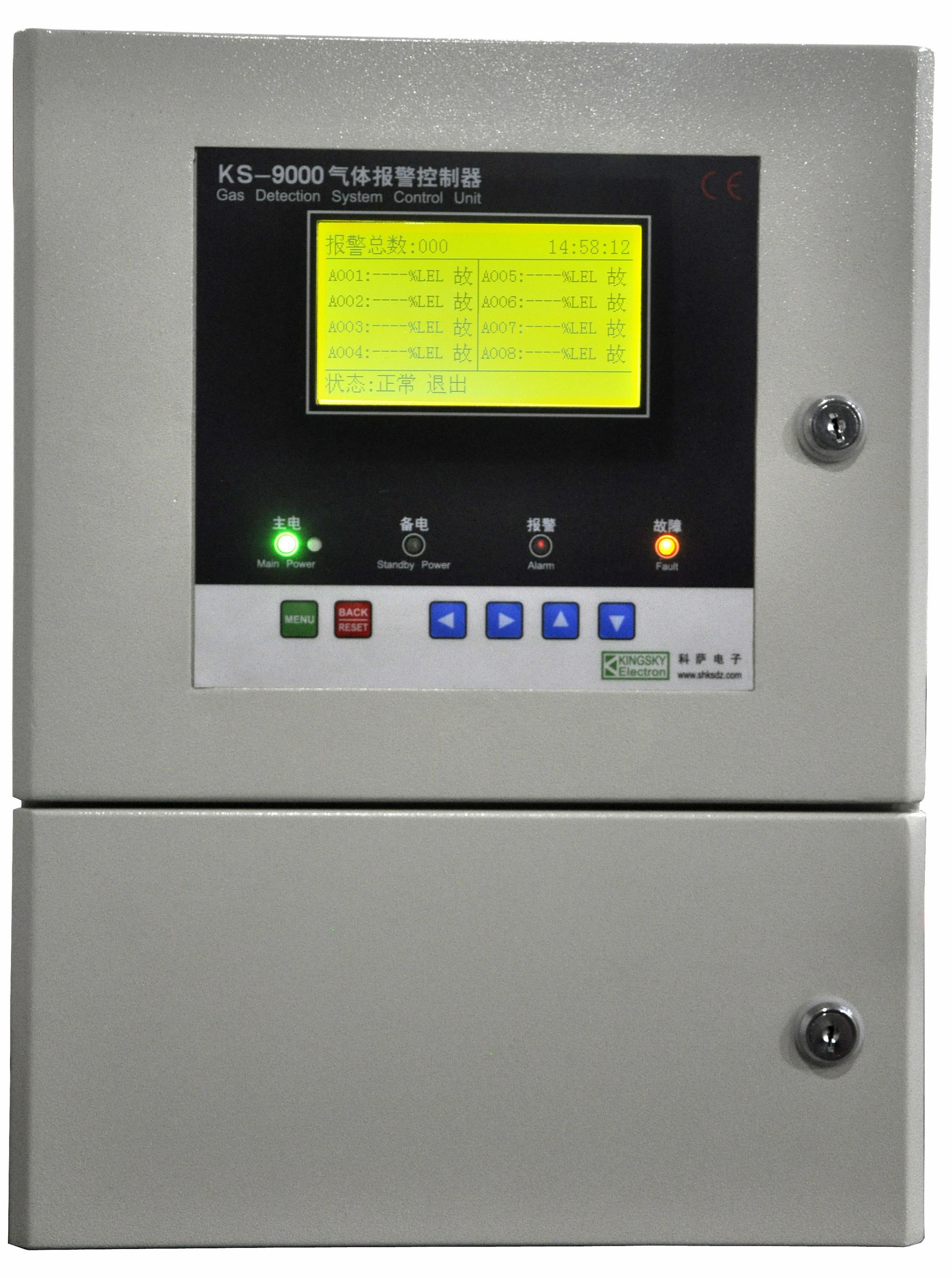 gas controller unit