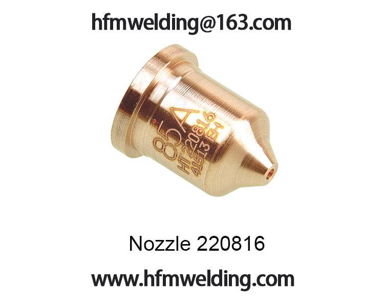 85A Nozzle 220816 for HYPERTHERM power max 85,plasma cuting welding