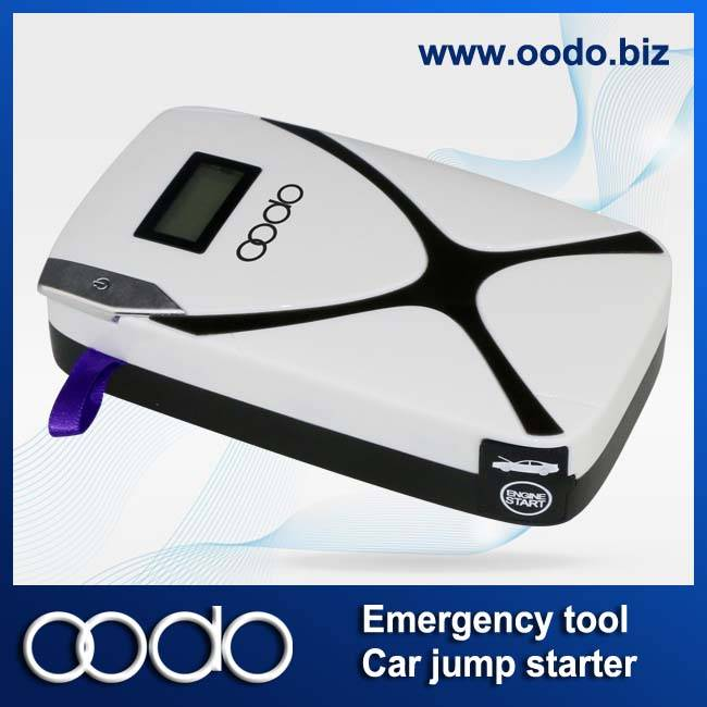2014 new arrival multi-function car jump starter CP02 8000mAh power bank