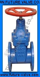 Cast Iron / Ductile Iron Resilient Seated Gate Valves PN16