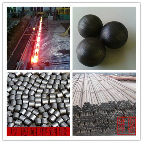 grinding media forged steel ball 20-150mm with 40Cr