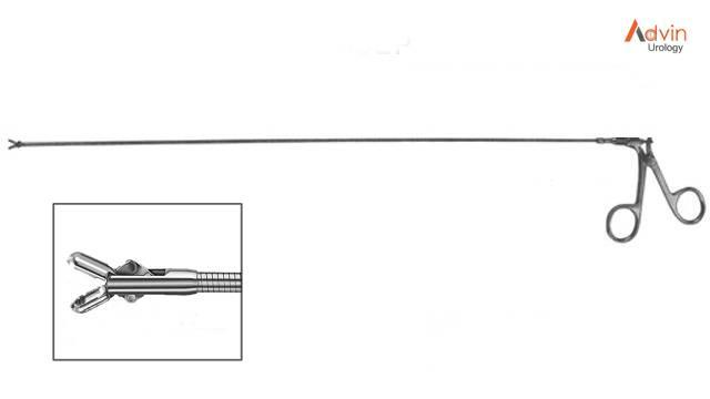 Flexible biopsy forceps