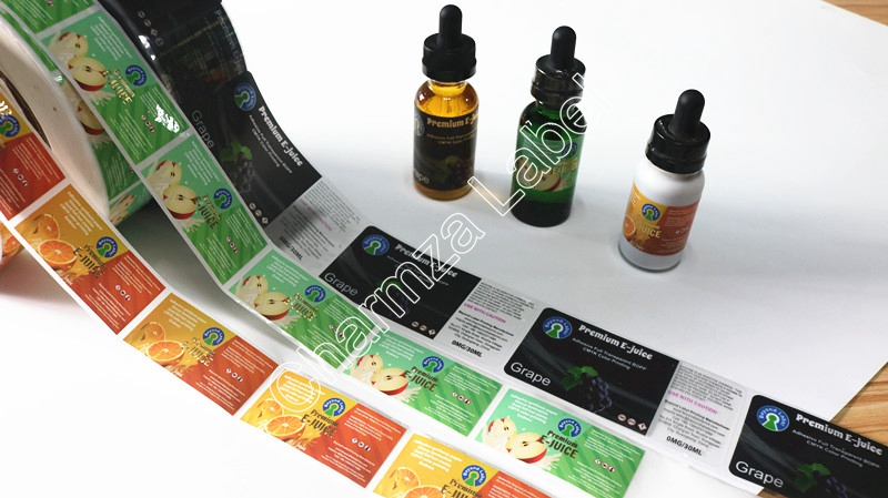 E-juice Labels