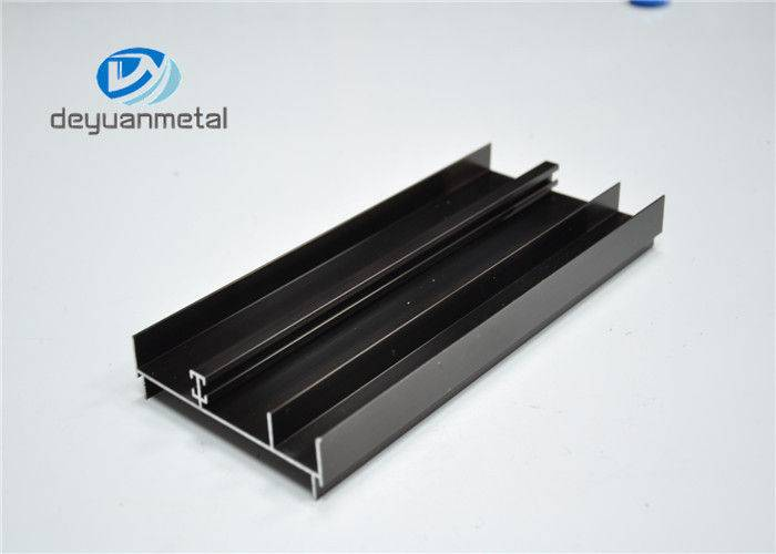 6063-T5 Alu Extrusion Profile Anodized Aluminium Profiles For Construction