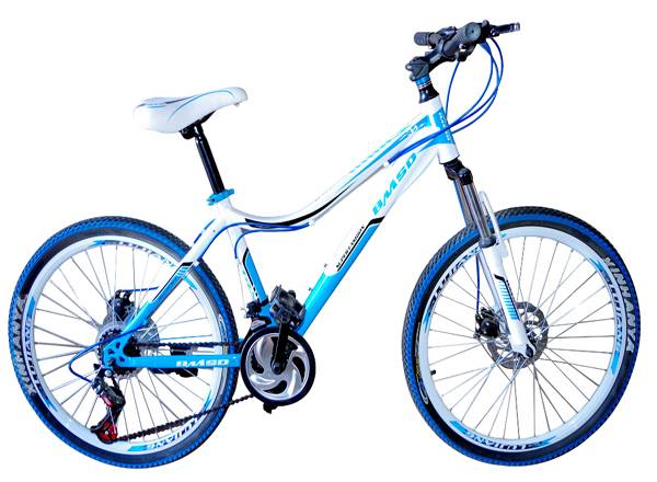 Mountain bicycle, 20'',24'' SHIMANO spare parts, integrated wheels