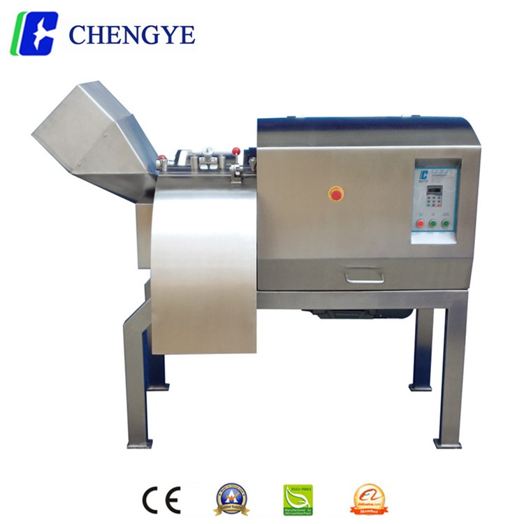 meat cube cutting machine / frozen meat cutting machine / frozen meat cutter