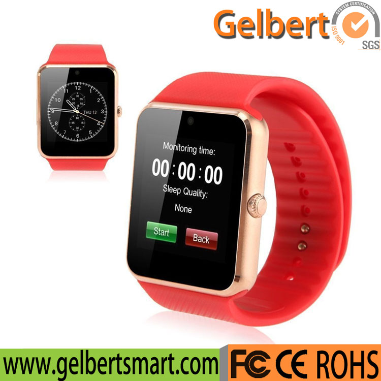 Gelbert Gt08 Bluetooth Watch Mobile Phone Smartwatch