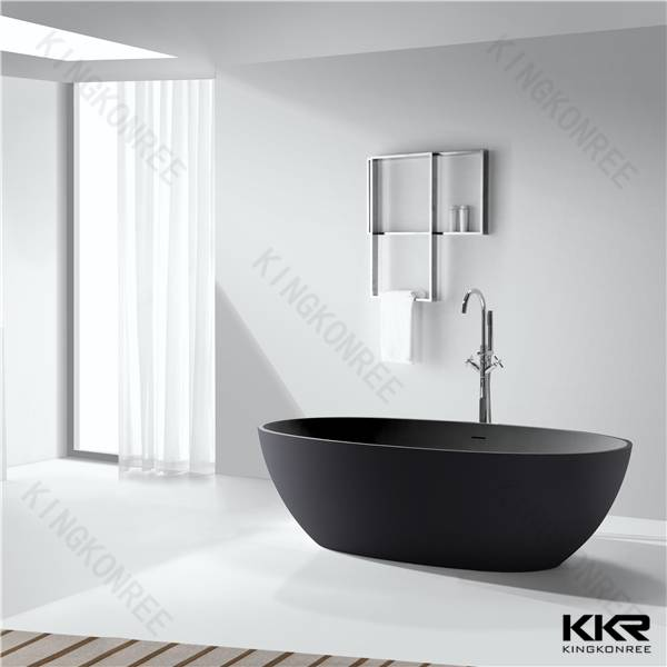 Freestanding Solid Surface Bathtub, European Style Custom Size Bathtub