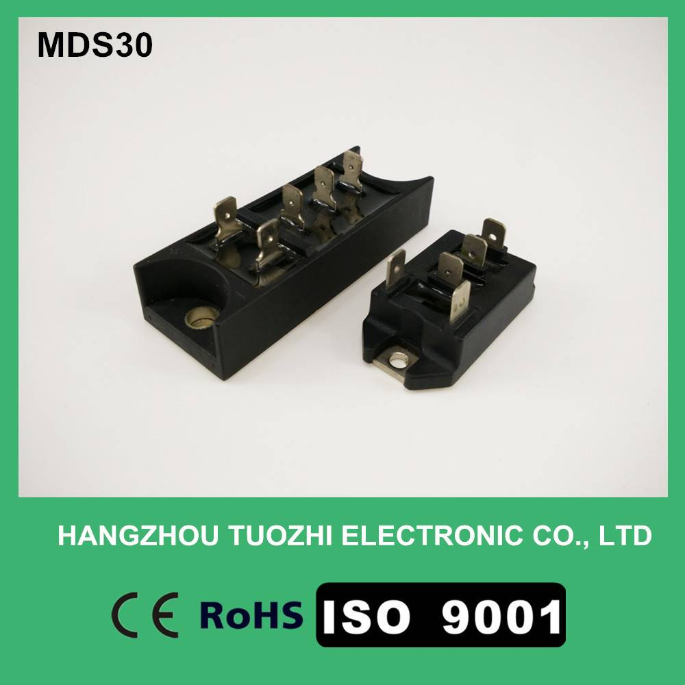 Three phase bridge rectifier module MDS30A1600V