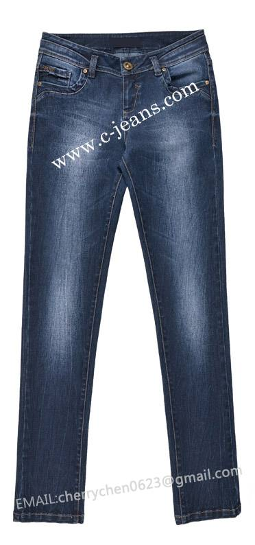 Lady's Fashion Jeans. High Quality Jeans Jacket Skirt Pants of Specialized Manufacturer for Men Wome