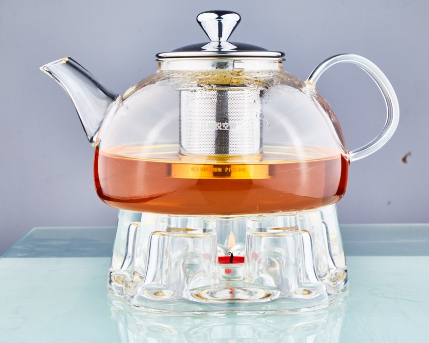 800ml Heat Resistant Borosilicate Glass Teapot With Infuser