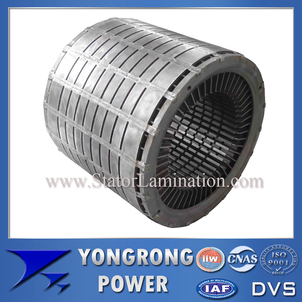 High Voltage Electric Motor Silicon Steel Laminated Stator Core