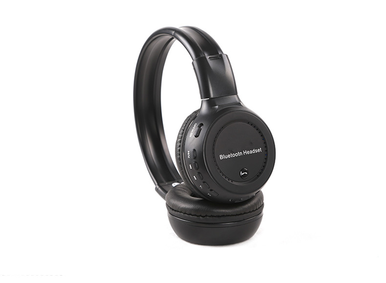 Black High-performance Wireless On-ear Bluetooth Stereo Headphone SW-B36