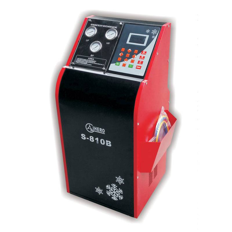 Refrigerant Recovery & Recharging Machine S-8101A