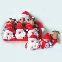 Christmas Decorations –Santan Sowman, and Reindeer Hanging